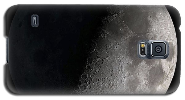 Moon Galaxy S5 Cases - First Quarter Moon Galaxy S5 Case by Stocktrek Images