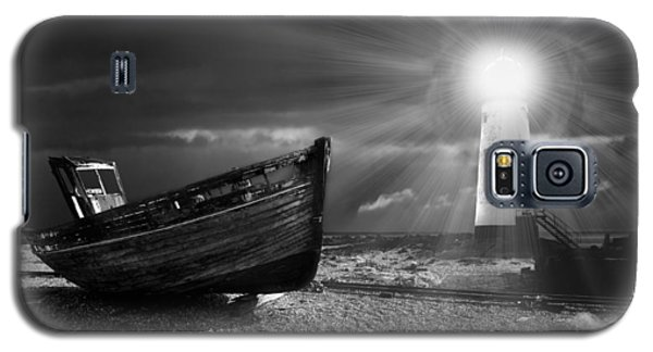 Fishing Boat Graveyard 7 Galaxy S5 Case by Meirion Matthias