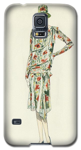 Flapper In An Afternoon Dress Galaxy S5 Case by American School