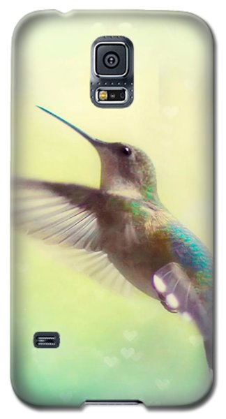 Flight Of Fancy - Square Version Galaxy S5 Case by Amy Tyler
