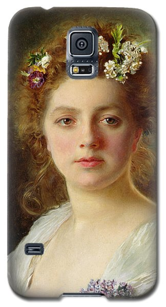 Flora Galaxy S5 Case by Gustave Jacquet