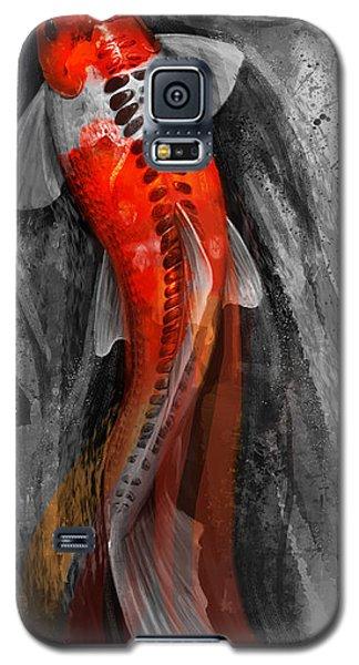 Flowing Koi Galaxy S5 Case by Steve Goad
