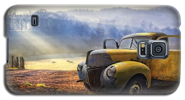 Buy Galaxy S5 Cases - Ford in the Fog Galaxy S5 Case by Debra and Dave Vanderlaan