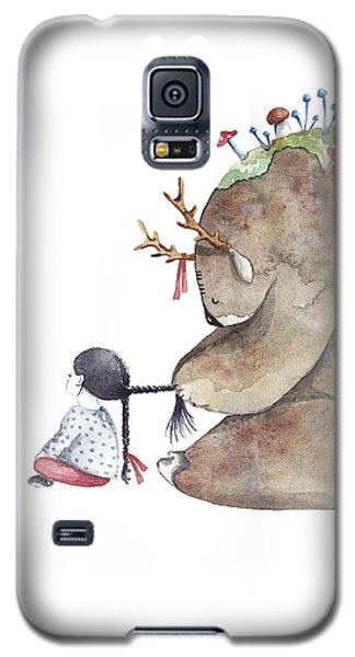 Forest Spirit Galaxy S5 Case by Soosh