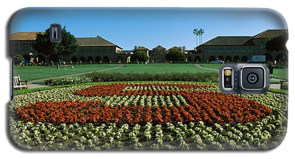 Formal Garden At The University Campus Galaxy S5 Case by Panoramic Images