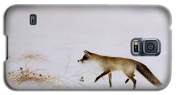 Fox In Snow Galaxy S5 Case by Jane Neville
