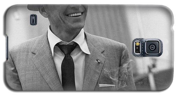 Frank Sinatra - Capitol Records Recording Studio #3 Galaxy S5 Case by The Titanic Project
