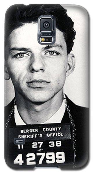 Frank Sinatra Mug Shot Vertical Galaxy S5 Case by Tony Rubino