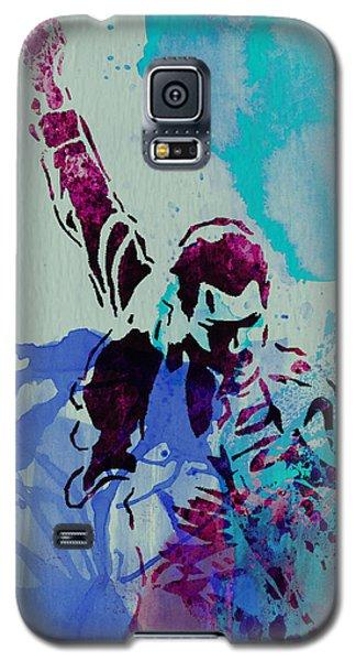 Freddie Mercury Galaxy S5 Case by Naxart Studio