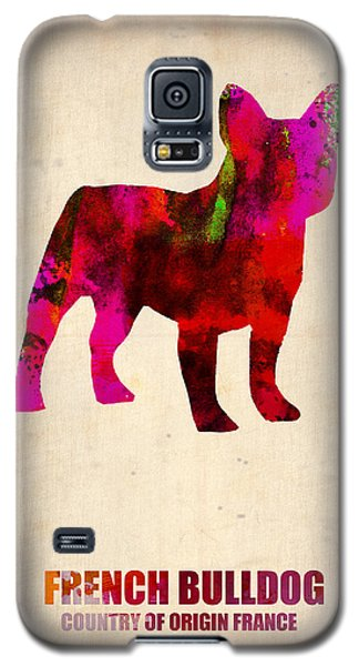 French Bulldog Poster Galaxy S5 Case by Naxart Studio