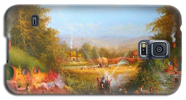 Gandalf's Return Fireworks In The Shire. Galaxy S5 Case by Joe  Gilronan