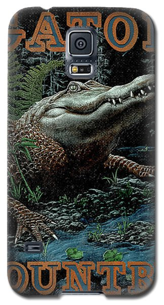 Gator Country Galaxy S5 Case by JQ Licensing