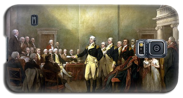 General Washington Resigning His Commission Galaxy S5 Case by War Is Hell Store