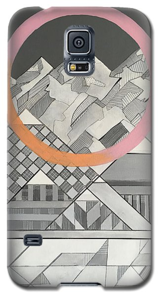 Geometry's Mountain Galaxy S5 Case by Sara Cannon