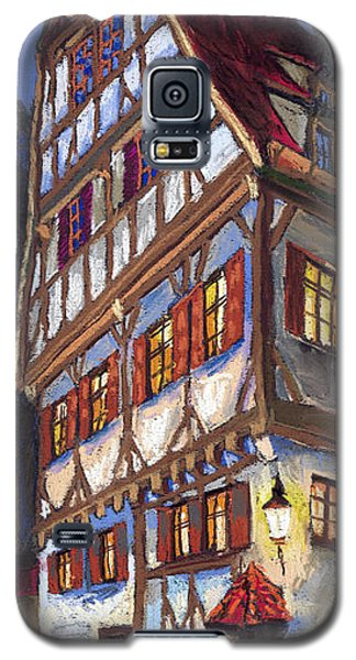 Pastels Galaxy S5 Cases - Germany Ulm Old Street Galaxy S5 Case by Yuriy  Shevchuk