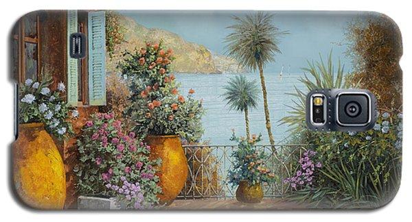 Seascape Galaxy S5 Cases - Gli Otri Sul Terrazzo Galaxy S5 Case by Guido Borelli