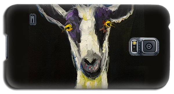 Goat Gloat Galaxy S5 Case by Diane Whitehead