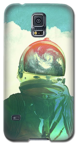 God Is An Astronaut Galaxy S5 Case by Fran Rodriguez