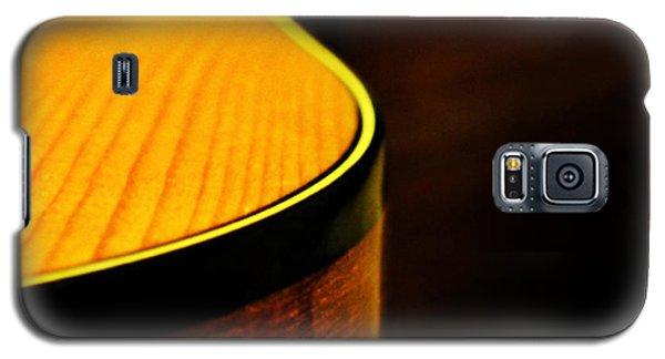 Golden Guitar Curve Galaxy S5 Case by Deborah Smith