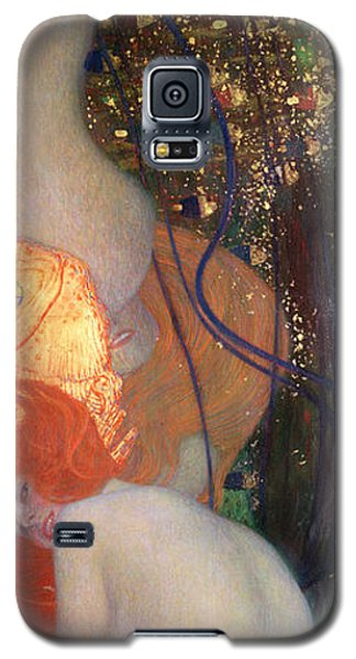 Goldfish Galaxy S5 Case by Gustav Klimt
