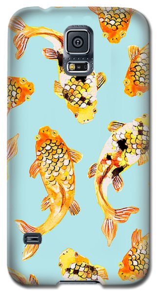 Goldfish Galaxy S5 Case by Uma Gokhale