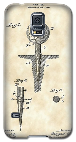 Golf Tee Patent 1899 - Vintage Galaxy S5 Case by Stephen Younts