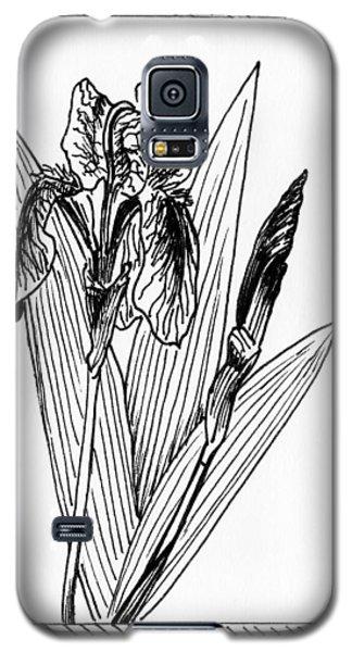 Graphic Iris Galaxy S5 Case by Masha Batkova