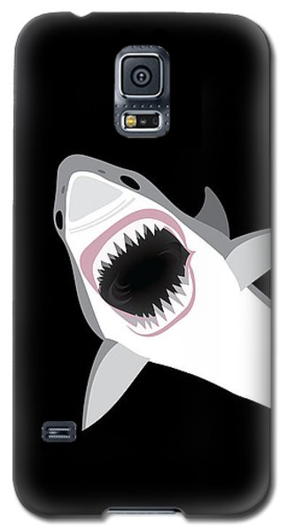 Great White Shark Galaxy S5 Case by Antique Images