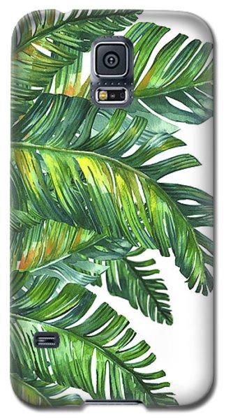 Green Tropic  Galaxy S5 Case by Mark Ashkenazi