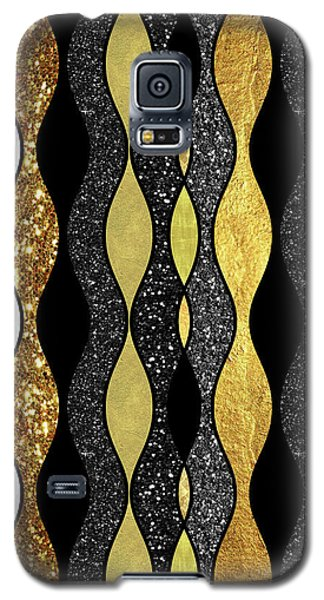 Groovy, Baby Modern Take On A Retro 1960s Design Galaxy S5 Case by Tina Lavoie