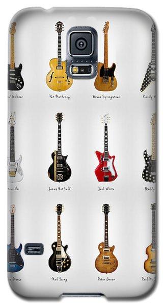 Guitar Icons No2 Galaxy S5 Case by Mark Rogan