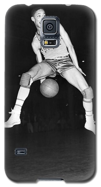 Harlem Clowns Basketball Galaxy S5 Case by Underwood Archives