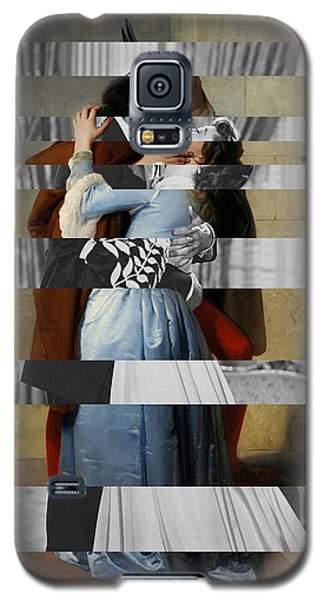 Hayes's The Kiss And Vivien Leigh With Clark Gable Galaxy S5 Case by Luigi Tarini