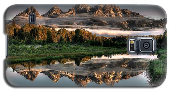 Hazy Reflections At Scwabacher Landing Galaxy S5 Case by Ryan Smith