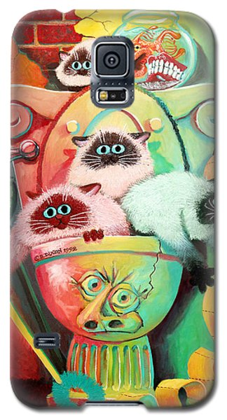 Head Cleaners Galaxy S5 Case by Baron Dixon