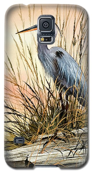 Heron Sunset Galaxy S5 Case by James Williamson