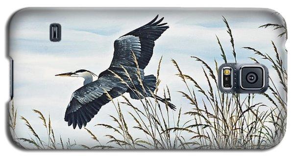 Herons Flight Galaxy S5 Case by James Williamson