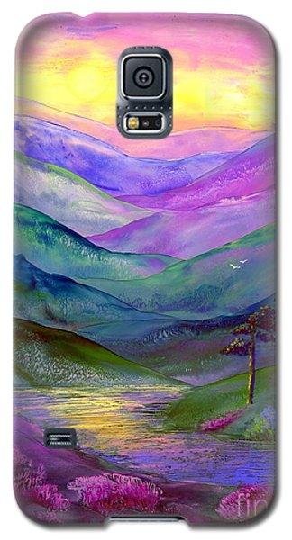 Highland Light Galaxy S5 Case by Jane Small