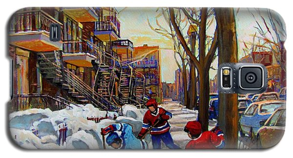Hockey On De Bullion  Galaxy S5 Case by Carole Spandau