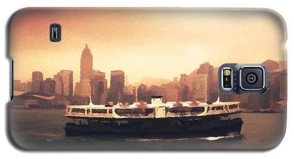 Hong Kong Harbour 01 Galaxy S5 Case by Pixel  Chimp