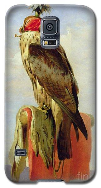 Hooded Falcon Galaxy S5 Case by Sir Edwin Landseer