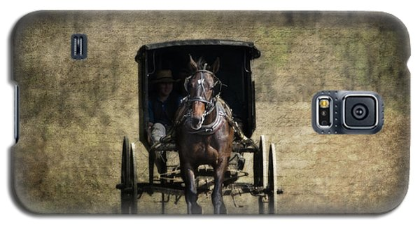 Horse And Buggy Galaxy S5 Case by Tom Mc Nemar