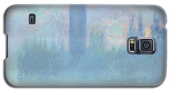 Houses Of Parliament  London Galaxy S5 Case by Claude Monet