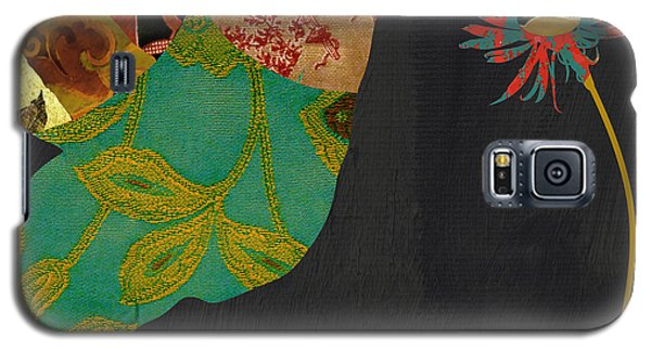 Hummingbird Brocade Iv Galaxy S5 Case by Mindy Sommers