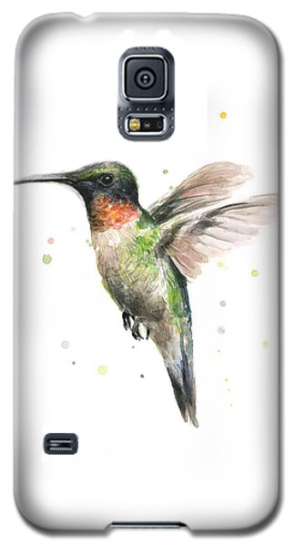 Hummingbird Galaxy S5 Case by Olga Shvartsur