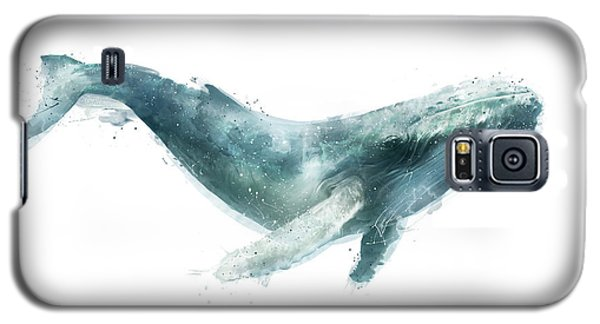 Humpback Whale From Whales Chart Galaxy S5 Case by Amy Hamilton