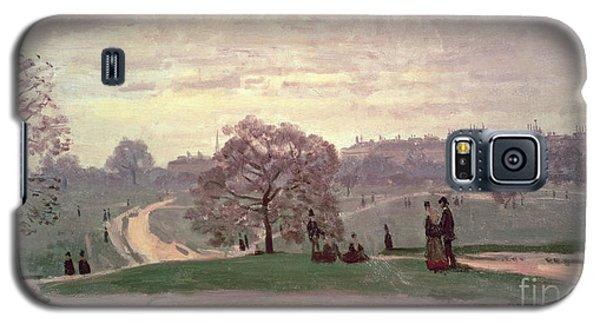Hyde Park Galaxy S5 Case by Claude Monet