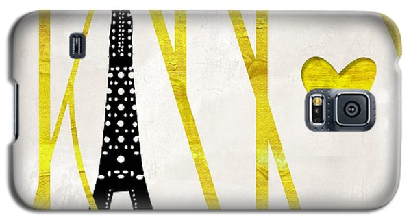 I Love Paris Galaxy S5 Case by Mindy Sommers