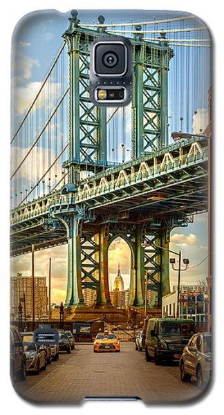 Galaxy S5 Cases - Iconic Manhattan Galaxy S5 Case by Az Jackson