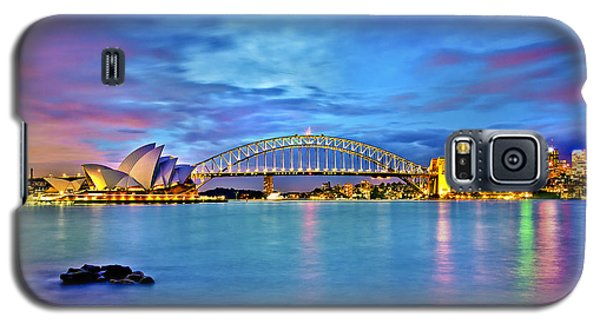 Icons Of Sydney Harbour Galaxy S5 Case by Az Jackson